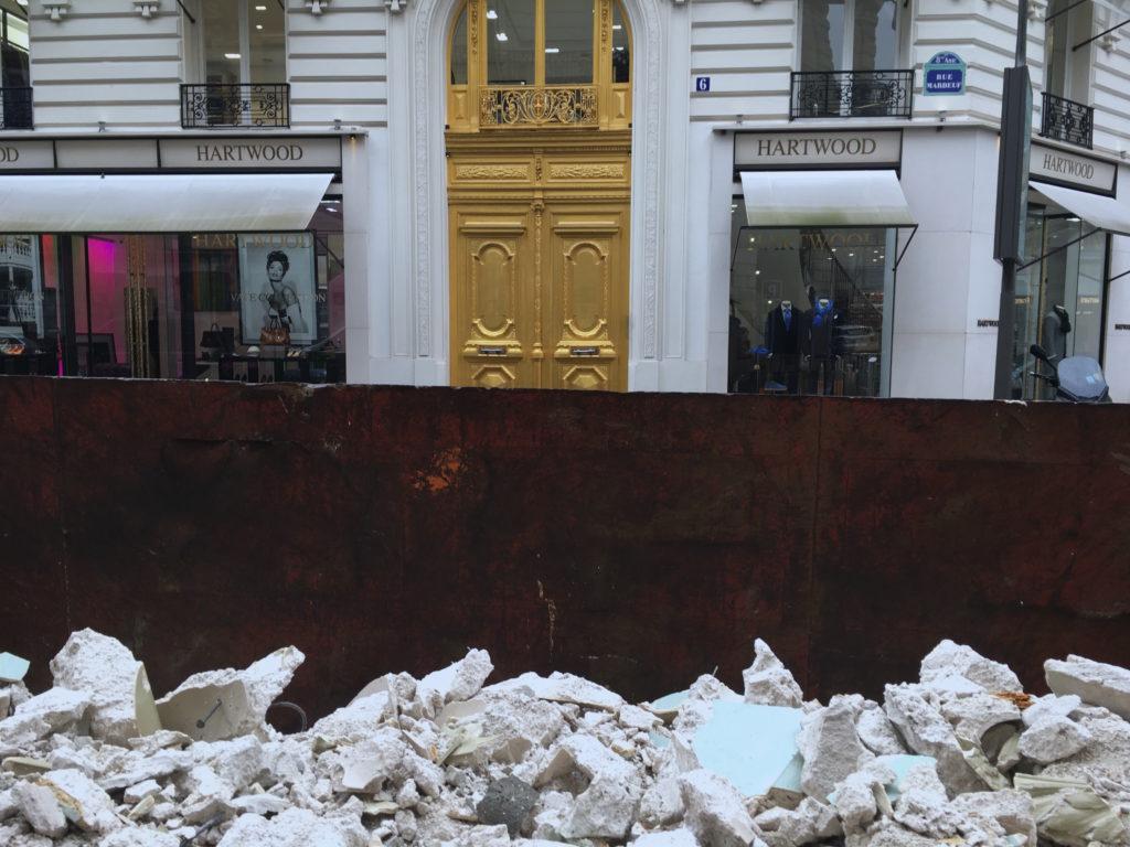 Paris, construction 1